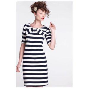 Anthropologie Retro Karen Walker striped dress